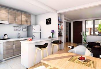 Proyecto nuevo en Monaco, Casas nuevas en Casco Urbano Zipaquirá con 3 habitaciones
