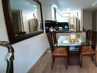 Una vista de una sala de estar y una sala de estar en Casa en venta en Cajicá, 112mt con terraza