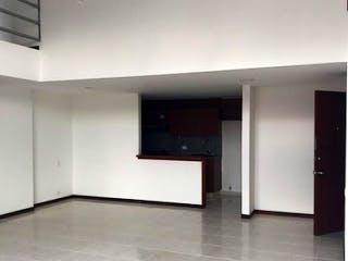 Cocina con nevera y microondas en Apartamento en venta en Otra Parte, de 141mtrs2