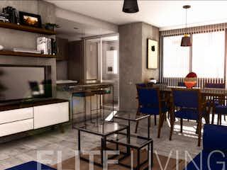 Una sala de estar llena de muebles y una chimenea en Elite Living Zoltan Kodaly
