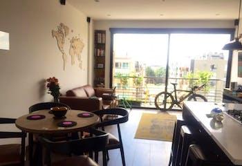 Apartamento en venta en Chicó Reservado 58m² con Zonas húmedas...
