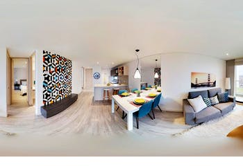 Apartamento en venta en Quinta Camacho de 1 alcoba