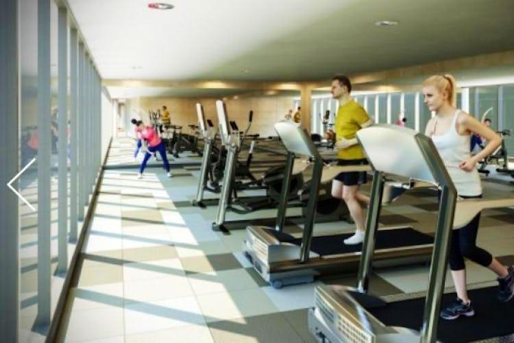 Foto 11 de Apartamento En Venta En Bogota Rosales Cuenta con piscina, sauna, gimnasio, salón comunal.