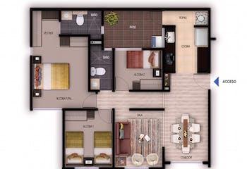 Castellon de los Condes, Apartamentos en venta en El Tintal con 72m²