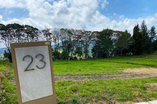Parcelación Monterosso, Lote en venta en Alto De Las Palmas de 1145m²