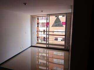 Una habitación que tiene una ventana en ella en Apartamento en venta en Niquía, de 40mtrs2