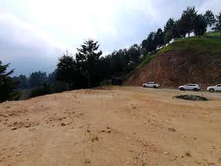 Un camino de tierra con unos pocos árboles en el fondo en Lote en venta en El Salado, 5349mt