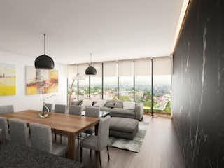 Una sala de estar llena de muebles y una mesa en Bosques 140
