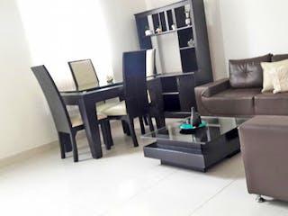 Una sala de estar llena de muebles y un sofá en Casa en venta en Santa Mónica de 137mts