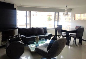 Apartamento en Santa Barbara Occidental, Santa Barbara - 101mt, tres alcobas, chimenea