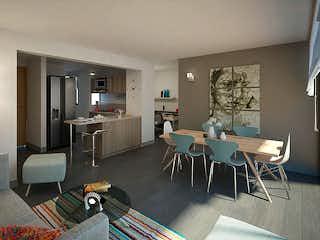 Una sala de estar llena de muebles y una mesa en Íkona 167