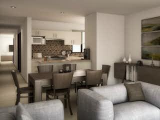 Una sala de estar llena de muebles y una planta en maceta en Yacatas 232