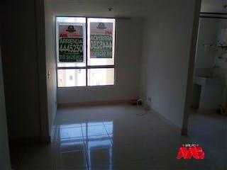 Un baño con una ventana y una ventana en Apartamento en venta en Cabecera San Antonio de Prado, 45mt