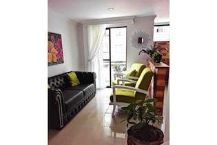 Apartamento en venta en Laureles 74m² con Balcón...
