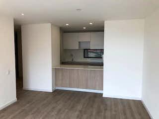 Una cocina con nevera y fregadero en Apartamento en venta en Santa Ana Occidental, 89mt