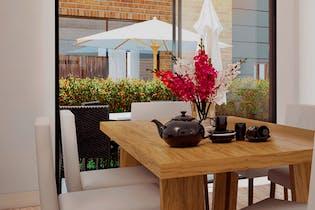 Hacienda el Canelón, Casas nuevas en venta en Casco Urbano Cajicá con 3 habitaciones