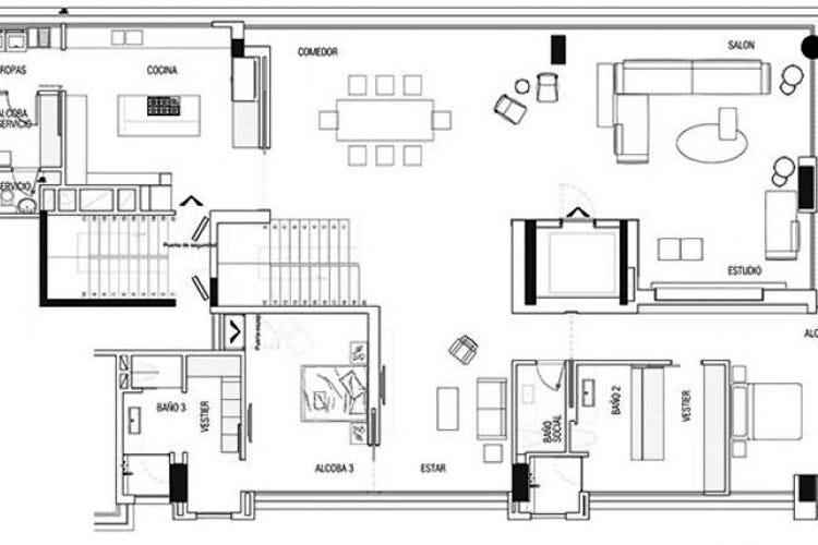 Foto 4 de Apartamento En Venta En Bogota Rosales, con terraza BBQ y zona infantil.