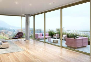 Penthouse en Rosales, Chico - 382mt, duplex, tres alcobas, terraza