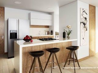 Una cocina con una mesa de comedor y sillas en Felisa