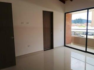 La vista de la cocina desde la ventana en Casa en venta en Pontezuela de 87mts