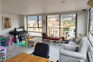 Apartamento en venta en Barrio Cedritos de 2 alcoba