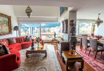 Apartamento en venta en El Nogal con acceso a Solarium