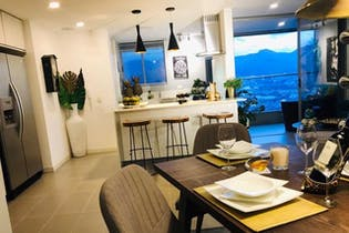 Oceanía, Apartamento en venta en El Poblado de 3 habitaciones