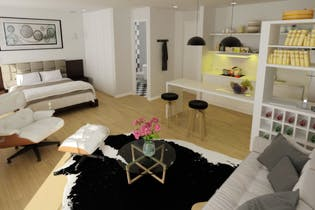 Proyecto nuevo Antigua, Apartamentos nuevos con 1 habitación