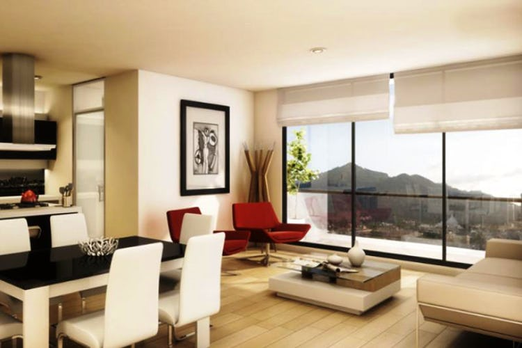 Foto 5 de Apartamento En Venta En Bogota La Carolina- con gimnasio, dos alcobas