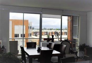Apartamento en Mosquera, Mosquera - 87mt, tres alcobas, balcon