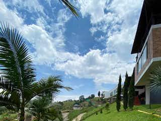 Una vista de un parque con flores en él en Casa ParaVenta,