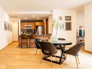 Una sala de estar llena de muebles y una televisión de pantalla plana en Zacatecas 62