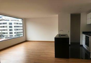 Apartamento En Bogota Santa Barbara Central con dos alcobas