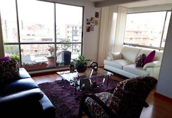 Apartamento en Belmira, Cedritos - 104mt, tres alcobas, balcón
