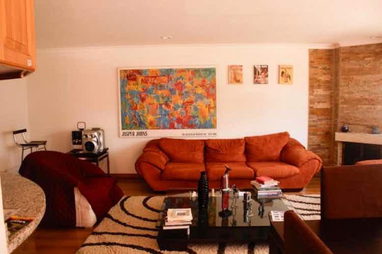 Portada Apartamento En Bogota Santa Barbara Occidental- 3 alcobas- sala- chimenea