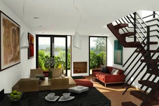 Vivienda nueva, Zue Townhomes, Casas nuevas en venta en Casco Urbano Chía con 3 hab.
