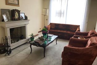 Apto En Bogota Chico Norte- penthouse- sala con chimenea-4 alcobas