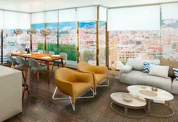 Proyecto de vivienda, Balcony 93-16, Apartamentos en venta en Chicó Reservado 134m²