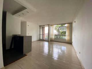 Una vista de una sala de estar y una sala de estar en Apartamento en Venta El Encanto de 69m2