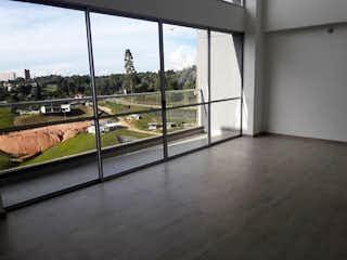 Una vista de una ciudad desde el interior de un edificio en Apartamento en venta en Chipre de tres habitaciones