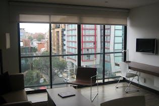 Apartamento en venta en Chicó Reservado de 1 hab. con Gimnasio...