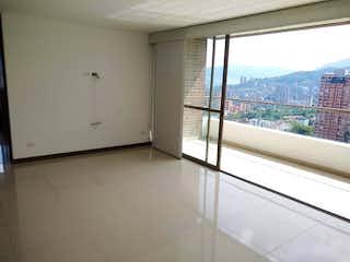 Una vista de una ciudad desde una ventana en Apartamento en venta en Los Balsos, de 110mtrs2