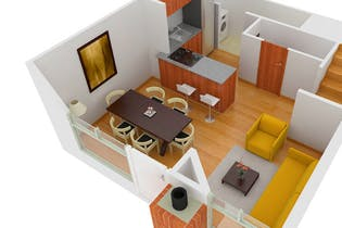 Proyecto nuevo en Terranova, Casas nuevas en Tierra Linda con 3 habitaciones