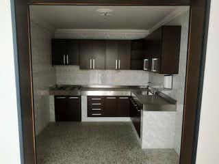 Una cocina con una estufa de acero inoxidable y horno en Casa en venta en La Milagrosa, de 126mtrs2