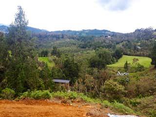 Una vista panorámica de un valle y una cordillera en Alto De Palmas, Lote en venta en Loma Del Atravezado de 1500m²