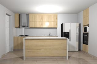 Laureado Santa Teresita, Apartamento en venta en Laureles de 101m²