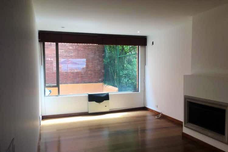 Portada Apartamento en Bogota Rosales - con sala comedor con chimenea