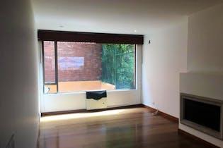 Apartamento en Bogota Rosales - con sala comedor con chimenea