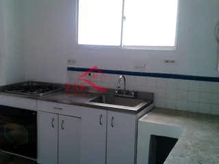 Una cocina con una estufa y un fregadero en Casa en venta en Boston, de 180mtrs2