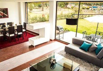Santa Anita, en Cajica de dos niveles, Casas nuevas en venta en Casco Urbano Cajicá con 3 hab.